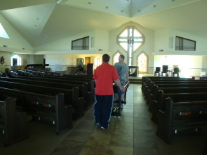 Steinway Piano, New Orleans, Moving In Church Picture - Hall Piano Company