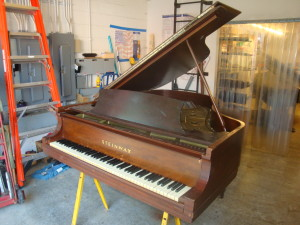 Brown Steinway Grand Piano In New Orleans Photo - Hall Piano Company