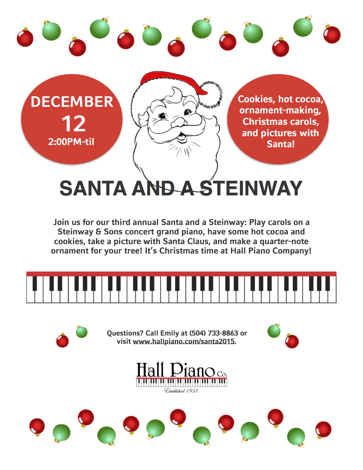 santa and a steinway flyer JPEG